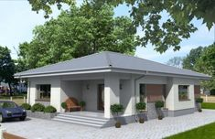 Bungalow House Design, Design Case, My House, House Plans, Shed, Construction, Exterior, Outdoor Structures, How To Plan