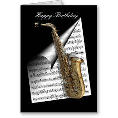 Полевые цветы, картинки с днем рождения саксофон