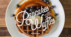 Pancakes vs. Waffle—Which one is your favorite? Get the recipes: http://chfstps.co/1EmbAWw