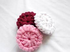 Valentine's Kitchen Scrubbies Washable PInk Dk by Merchant3114 #craftshout0119