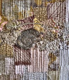 detail from a lovely stitched concertina book by Kate Dowty
