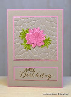 Hello, Crafters.   I think this stamp set is becoming my newest favourite set, pushing the balloons off top spot! LOL!   As  I said yesterda...