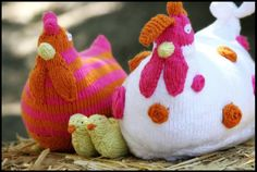 I just can't get enough of these chicken pillows? toys? Whatever they are - they are on my list to make!!