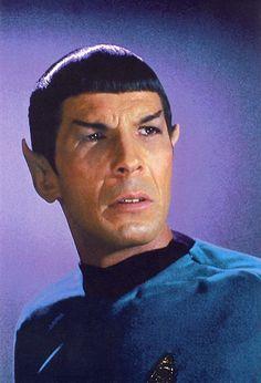 images of star trek with leonard nimoy | Leonard Nimoy as Spock