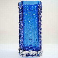 Glas Vase • Josef Schott for Smalandshyttan • Schweden • Sweden • Überfangglas