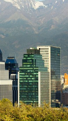 Santiago--I love the urban city down in the valley surrounding by towering mountains all around. Bolivia, Around The World In 80 Days, Around The Worlds, Latin America, South America, Cool Places To Visit, Places To Travel, Urban City, Beautiful Places In The World