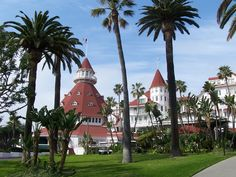 Hotel Del Coronado - another great hotel in San Diego, reportedly haunted.  Lots of great beaches, restaurants, and shops within walking distance.