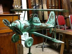 Antique Biplane Weathervane (steveartist) Tags: airplanes antiques ...  flickrhivemind.net