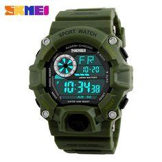 Fashion Sports Watch Luxury Brand G style Men Quartz Military Digital Watches