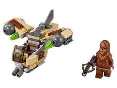 [_] LEGO Star Wars - Wookiee™ Gunship (75129); Retail: $9.99 | Join the Wookiees in miniature battle!