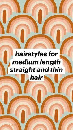 Cute Hairstyles For Teens, Cute Simple Hairstyles, Easy Hairstyles For Long Hair, Teen Hairstyles, My Hairstyle, Pretty Hairstyles, School Hairstyles, Medium Hair Styles, Curly Hair Styles