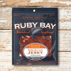 This wild smoked salmon jerky is carefully prepared and seasoned with fresh orange and ginger to create a healthy high protein snack on-the-go. Jerky Maker, Whole Food Recipes, Healthy Recipes, Healthy Food, Trouble Getting Pregnant, King Salmon, High Protein Snacks, Protein Sources, Smoked Salmon