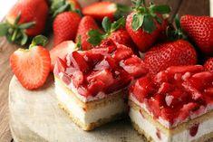 Pyszne ciasto to niekoniecznie wielowarstwowy tort. Równie dobrze w tej roli sprawdzą się zdecydowanie prostsze wypieki, które bez trudu przygotujesz w domu. Summer Cake Recipes, Summer Cakes, Summer Desserts, No Bake Desserts, Dessert Banana Split, Cool Whip Pies, Oreo Delight, Strawberry Icebox Cake, Biscuits Graham