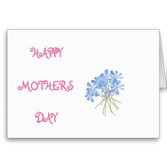 Happy Mothers day tulip card