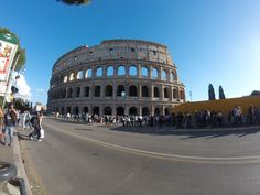 Colosseo In Rome, Photo with GoPro, No Filter