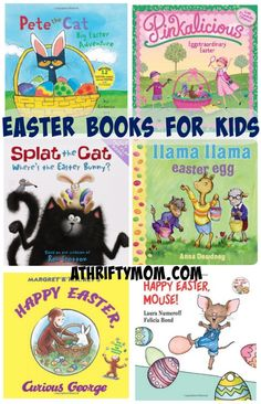 Easter Books for Kids #Reading - AThriftyMom