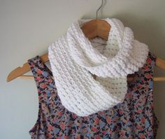 Eco-friendly Infinity Scarf by DottieQ on Etsy