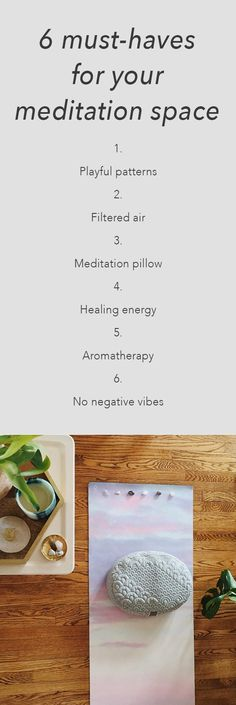 If the space you use to meditate is bringing anything less than positive vibes, then it might be time to invest in your experience. We rounded up a list of items you can introduce to your space to improve its feng shui, add some visual appeal, and give you a happier, more comfortable meditation experience. Happy meditating!