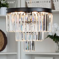 modern pendant lamps design crystal lustre pendente D40CM bedroom light fixture AC 100 240V luxury home decoration lighting-in Pendant Lights from Lights & Lighting on Aliexpress.com | Alibaba Group