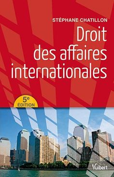 DROIT DES AFFAIRES INTERNATIONALES de Stéphane Chatillon. Cet ouvrage aborde les questions essentielles : notions, sources, principes régissant le commerce international (opérateurs, propriété intellectuelle et biens culturels, mouvements internationaux, concurrence), contrat international (notion, négociation, vente internationale de marchandises, transport international de marchandises), contentieux (loi applicable, juge compétent... Cote : 3-31 CHA
