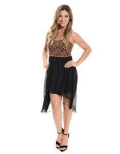 Fierce Little Number High Low Dress