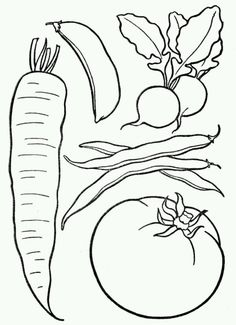 Best Fruits Coloring Pages Vegetable Coloring Pages, Fruit Coloring Pages, Printable Coloring Pages, Fruits And Vegetables Pictures, Vegetable Pictures, Fruits Images, Lego Coloring, Coloring Pages For Kids, Coloring Books