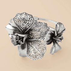 FOSSIL® Jewelry Bracelets:Jewelry Wild Orchid Bangle JA5246
