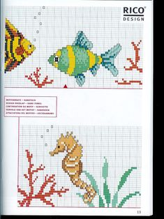 Bothy Threads, Fall Cross Stitch, Rico Design, Counted Cross Stitch Patterns, Scrapbooks, Pixel Art, Needlework, Embroidery, Crochet
