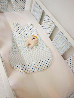 Beach style nursery bedding crib bedding by LoveColorsByJulianna
