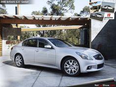 Infiniti G37 Sedan - Front Angle, 2010, 1280x960, 4 of 12