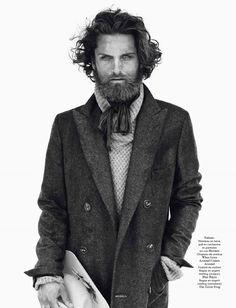 Fabian Nordstrom / Sølve Sundsbø / Models / Vogue Hommes International / FW 2013