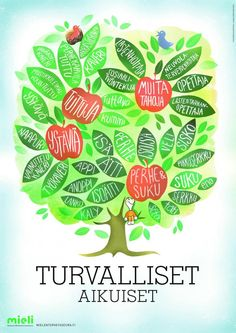 Turvalliset aikuiset | Suomen Mielenterveysseura Early Education, Kids Learning, Psychology, Science, Feelings, School, Peda, Early Childhood Education, Early Learning