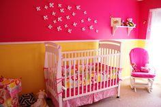colorfull baby nursery room design