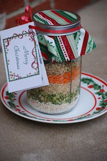 Gift-in-a-Jar Soup Mix - Waking Up Vegan