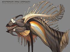 Emperor Ray Headshot by beastofoblivion on deviantART