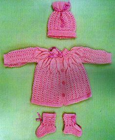 COMPTE_BLOGOF croche : http://croche.artblog.com.br, 005 - 2010 - CONJUNTINHO ROSA EM PONTO FOLHA