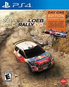 Get Sebastien Loeb Rally Evo release date (Xbox One, cover art, overview and trailer. Experience off-road racing at its best in rally cars from both present and days past in Sebastien Loeb Rally Evo! Playstation Games, Xbox One Games, Pc Games, Pikes Peak, Evo, Peugeot, Sports Games For Kids, Latest Video Games, Xbox One Console