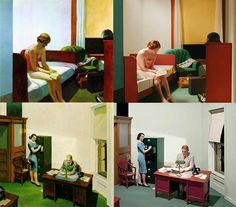 If It's Hip, It's Here: 13 Edward Hopper Paintings Are Recreated As Sets For Indie Film 'Shirley - Visions of Reality.'