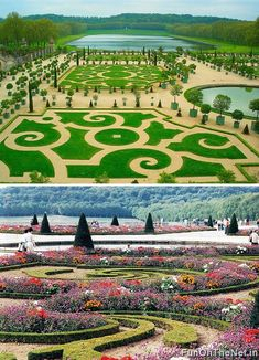 Gardens in Versaille, France