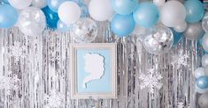 FROZEN IN ELSA BLUE | ARCH DAYS Frozen Birthday Party, Frozen Party, 4th Birthday, Birthday Parties, Planes Party, Amazon Beauty Products, Baby Shower Parties, Baby Showers, Monster Party