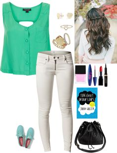"""the faults in our stars"" by lexi1636 ❤ liked on Polyvore"