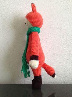 Ravelry: Projeto Galeria de lalylala FIBI o padrão de raposa por Lydia Tresselt