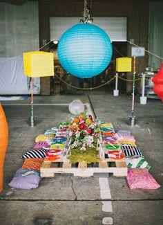 Una fiesta infantil llena de arte, color y reciclaje   Decorar tu casa es facilisimo.com
