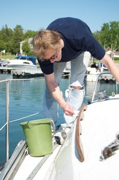 Environmentally-friendly boat cleaning tips maidbrigade.com