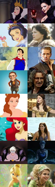 Disney vs. Once Upon a Time