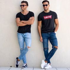 EveryDay Casual 🔥 ☣️ Credits to 👊 Men With Street Style, Urban Street Style, Men Street, Street Wear, Casual Outfits, Men Casual, Fashion Outfits, Fashion Trends, Easy Outfits