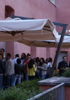 Extracurricular activities at Camplus Catania- movie night under the stars