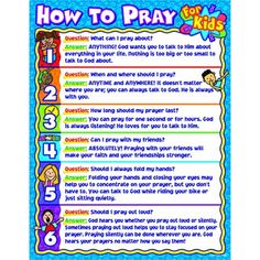 How to pray for kids CTP6365