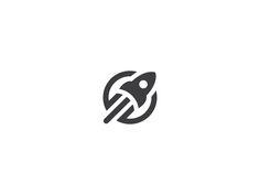 Web Rocket Logo by Taras Boychik