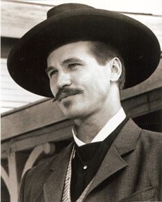 Val Kilmer as Doc Holliday in the movie Tombstone.  Nobody could've played that part better.